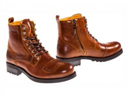 Chaussures moto Helstons Travel tan