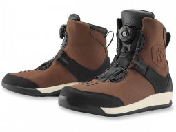 Chaussures moto Icon Patrol 2 marron