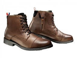 Chaussures moto Ixon Greenwich marron