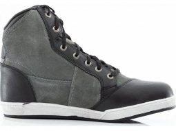 Chaussures moto RST Iom Crosby Suede WP gris