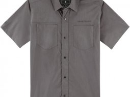 Chemise Icon Counter gris chiné