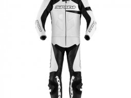 Combinaison 2 pièces Spidi RACE WARRIOR TOURING LONG blanc / noir