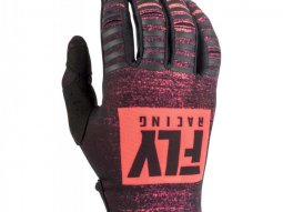 Gants cross enfant Fly Racing Kinetic Noiz noir / rouge