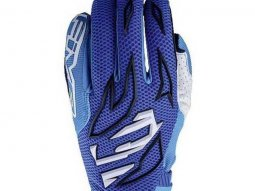 Gants cross Five MXF 3 bleu