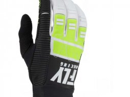 Gants cross Fly Racing Evo 2.0 noir / jaune / blanc