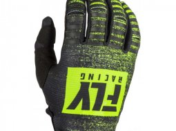Gants cross Fly Racing Kinetic Noiz noir / jaune