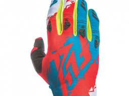 Gants cross Fly Racing Kinetic rouge / bleu