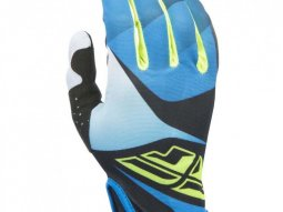 Gants cross Fly Racing Lite noir / bleu / jaune