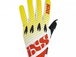 Gants cross iXS RATON jaune rouge blanc