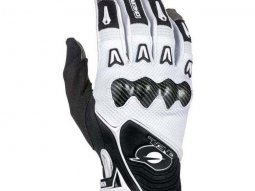 Gants cross O'Neal Butch Carbon blanc