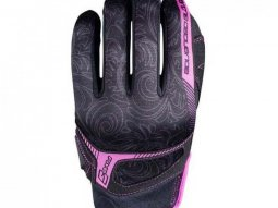 Gants femme Five RS3 REPLICA WOMAN noir / rose