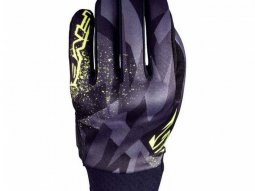 Gants Five GLOBE REPLICA CAMO jaune fluo