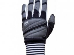 Gants Ride And Sons STARWEST noir / blanc / gris