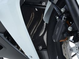 Grille de protection de collecteur R&G Racing titanium Honda CBR 500 R