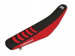 Housse de selle Blackbird Double Grip 3 Honda CRF 450R 02-04 rouge / noi