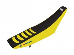 Housse de selle Blackbird Double Grip 3 Suzuki 250 RM-Z 07-18 jaune / no