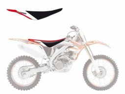 Housse de selle Blackbird Dream Graphic 3 Honda CRF 450R 05-08 rouge / b