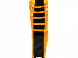 Housse de selle Blackbird Zebra KTM 450 SX-F 07-10 noir / orange