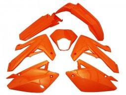 Kit carénage Rieju 50 MRT / MRT Pro 09- orange brillant