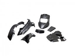 Kit carrosserie BCD V2 MBK Booster 04- noir
