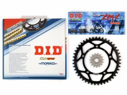 Kit chaîne DID alu TM 125 Enduro 00-