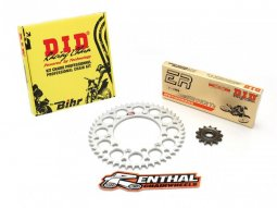 Kit chaîne DID / Renthal 420 type NZ3 14 / 50 couronne ultra-light...