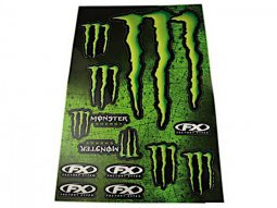 Kit déco autocollants Monster Energy 12 pièces