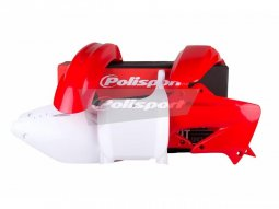 Kit plastique Polisport Honda CR 125R 02-03 (rouge / blanc origine)