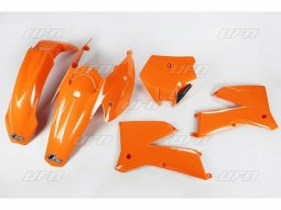 Kit plastique UFO KTM 125 SX 05-06 orange (couleur origine)