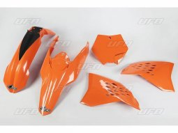 Kit plastique UFO KTM 125 SX 07-08 orange (orange 98-18)