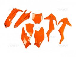Kit plastique UFO KTM 250 SX-F 16-18 orange fluo