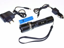 Lampe torche 1 LED rechargeable