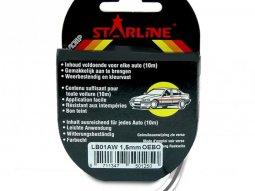 Liseret Tuning Starline 10m x 1.5mm, anthracite