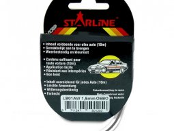 Liseret Tuning Starline 10m x 3mm, anthracite