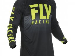 Maillot cross Fly Racing Lite Hydrogen jaune / noir