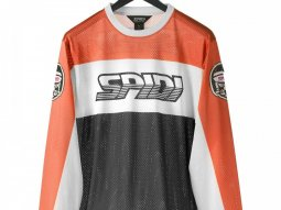 Maillot cross Spidi ORIGINALS noir / orange