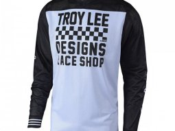 Maillot cross Troy Lee Designs GP Air Raceshop blanc