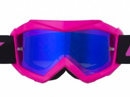 Masque cross enfant Kenny Track + rose fluo