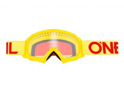 Masque cross enfant O'Neal B-10 Solid jaune / rouge