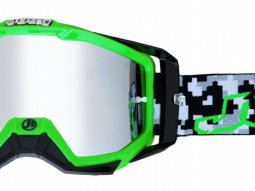 Masque cross Just1 Iris Hulk vert / noir