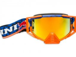 Masque cross Kini Red Bull Competition bleu marine / orange