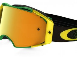 Masque cross Oakley Airbrake Shockwave vert / jaune