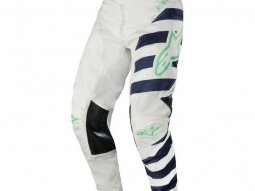 Pantalon cross Alpinestars Racer Braap cool gray / dark navy / teal