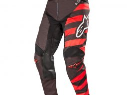 Pantalon cross Alpinestars Racer Braap noir / rouge / blanc