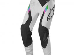 Pantalon cross Alpinestars Supertech cool gray / black