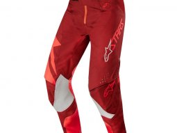 Pantalon cross Alpinestars Techstar Factory rouge / burgundy