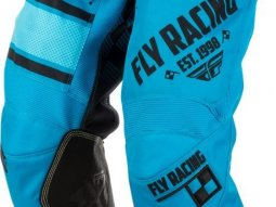 Pantalon cross enfant Fly Racing Kinetic Era bleu
