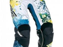 Pantalon cross femme Fly Racing Kinetic enfant jaune