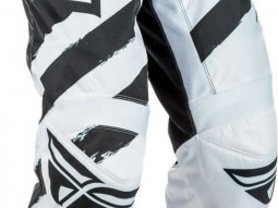 Pantalon cross Fly Racing F-16 noir et blanc