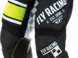 Pantalon cross Fly Racing Kinetic Era noir / blanc